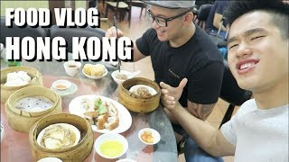 Traditional Hong Kong Dim Sum, Alcohol, Won Ton Mee [Food VLOG]