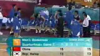2006多哈亚运会男篮中国VS韩国b