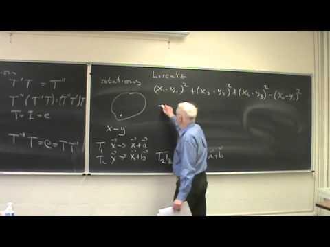 2016 Seminar on Physical Mathematics at UNM -- 1