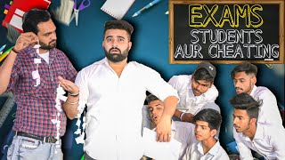Exams Students Aur Cheating | Students In Exams | Teacher Vs Students | RISE OF THE BHAI's