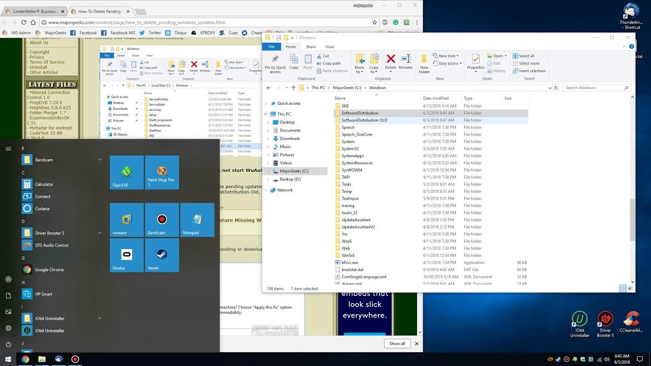 How To Delete Pending Windows Updates