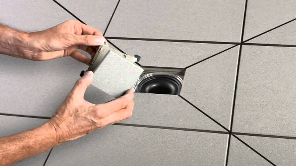 Fixer Tips How To Install A Schl 252 Ter Kerdi Drain Covering