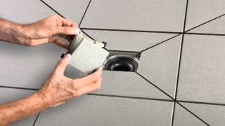 Fixer Tips: How to install a Schlüter-KERDI DRAIN Covering Support (Design 4)