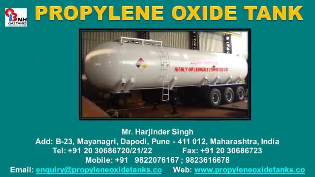 Propylene Oxide Tank - YouTube