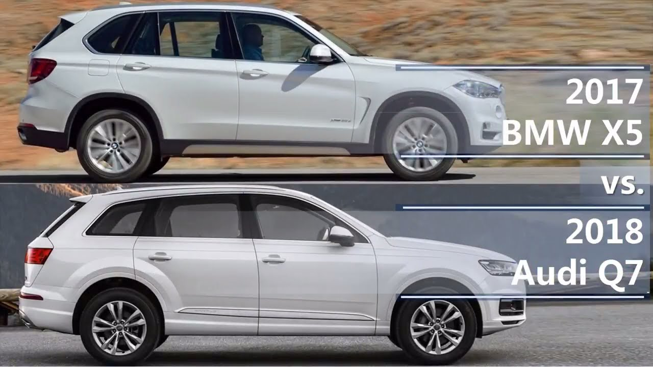 2017 bmw x5 vs 2018 audi q7 technical comparison youtube. Black Bedroom Furniture Sets. Home Design Ideas