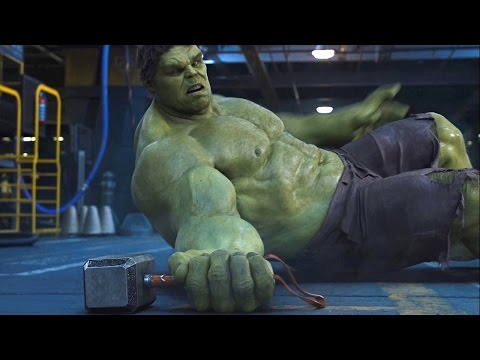 Thor vs Hulk - Fight Scene - The Avengers...
