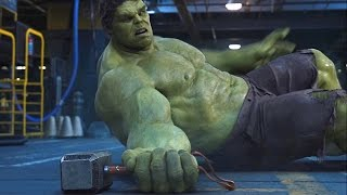 Thor vs Hulk - Fight Scene - The Avengers (2012) Movie Clip HD thumbnail