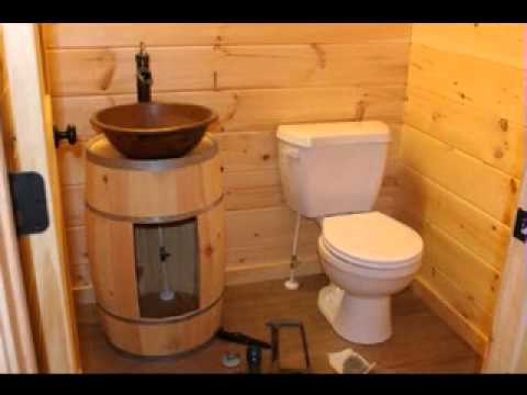 Log Home Bathroom Decorating Ideas