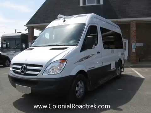 2013 Roadtrek SS-Agile Sofa Mercedes Benz Sprinter Motorhome Van Conversion