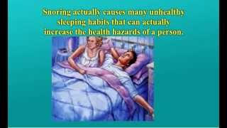 Remedies For Snoring - Eliminate Your Snoring Permanently