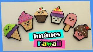 Helados y Pastelitos de Foami (Goma Eva) || Imánes Kawaii