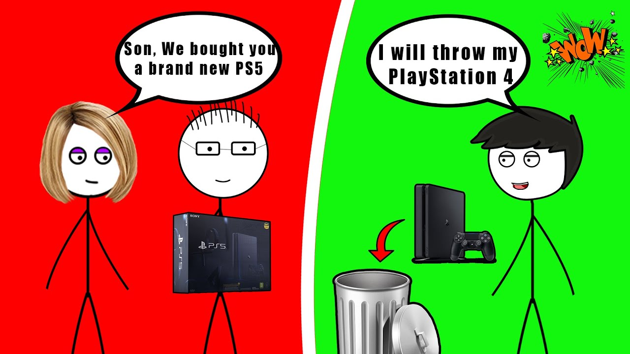 When a PS4 Gamer gets a PS5