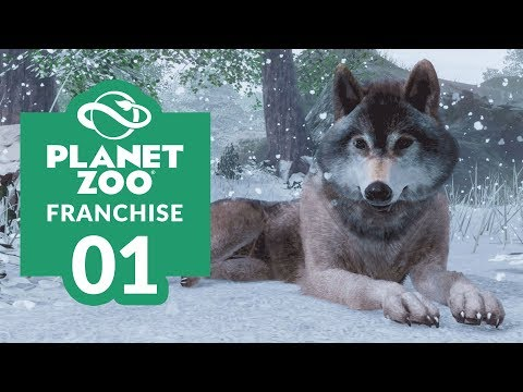PLANET ZOO | EP. 01  LAYING THE FOUNDATIONS (Franchise Mode Lets Play)
