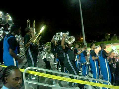 Dillard High School Marching band stand Tune 1