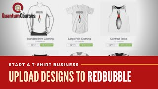 Redbubble | Upload Your First Design & Optimize Your Listing with Keywords