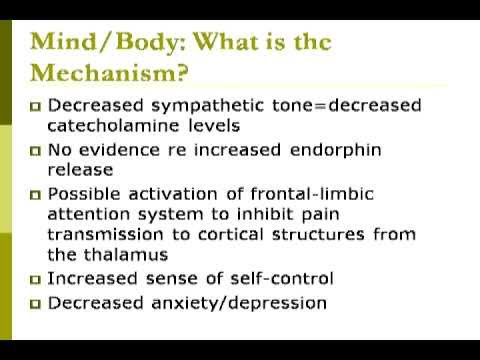 Complementary And Alternative Treatments For Pain