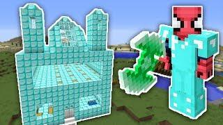 Zengİn Vs Fakİr ÖrÜmcek Adam #7 - Zengin'in Yeni Evi  Minecraft