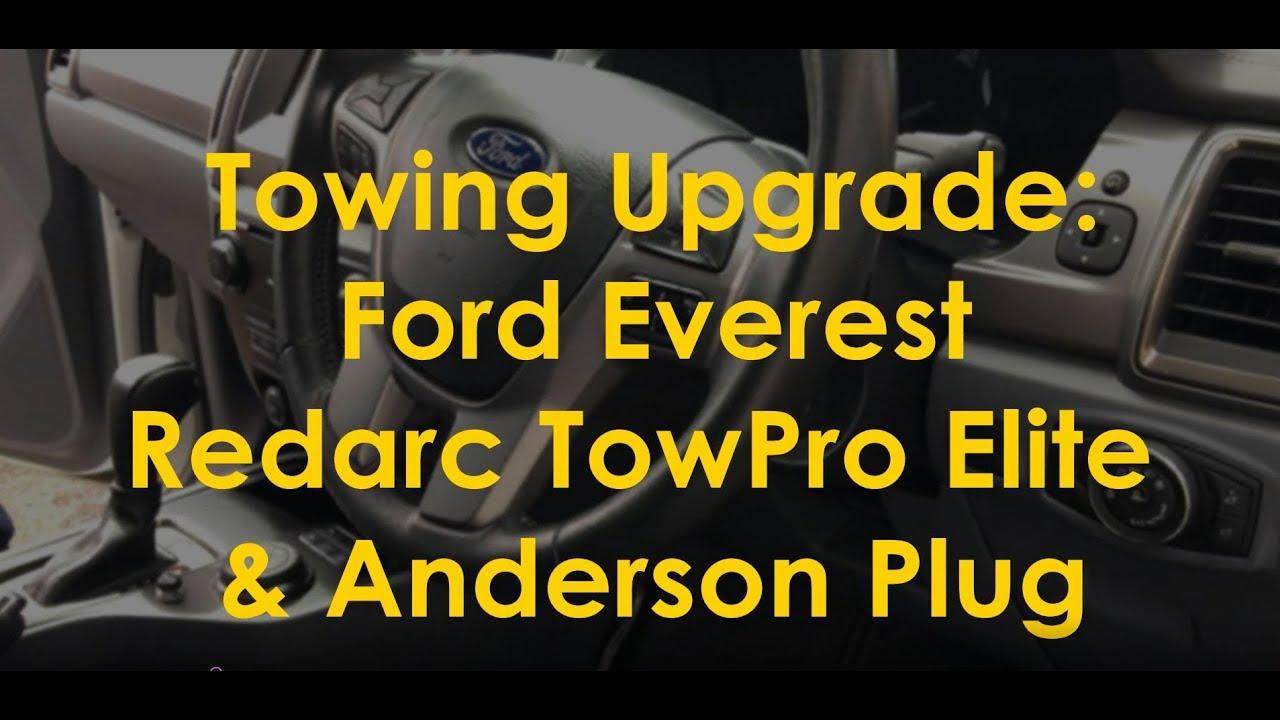 Towing Setup Ford Everest Redarc Towpro Elite Youtube Ranger Brake Wiring