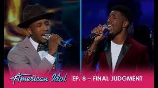Dennis Lorenzo vs Marcio Donaldson: Two Similar Journeys Collide | American Idol 2018