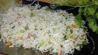 Vegetable Fried Rice (indo Chinese) By Garam Masala