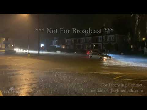 Myerstown And West Lawn PA - Flash Flooding Stranded Vehicle - June 20th 2019