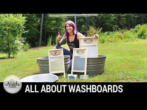 Why You Need A Washboard, What Kind To Get, How To Hand Wash Laundry
