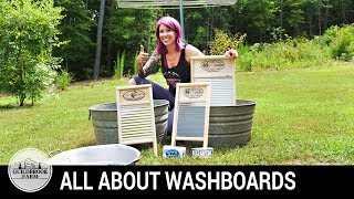 why you need a washboard what kind to get how to hand wash laundry