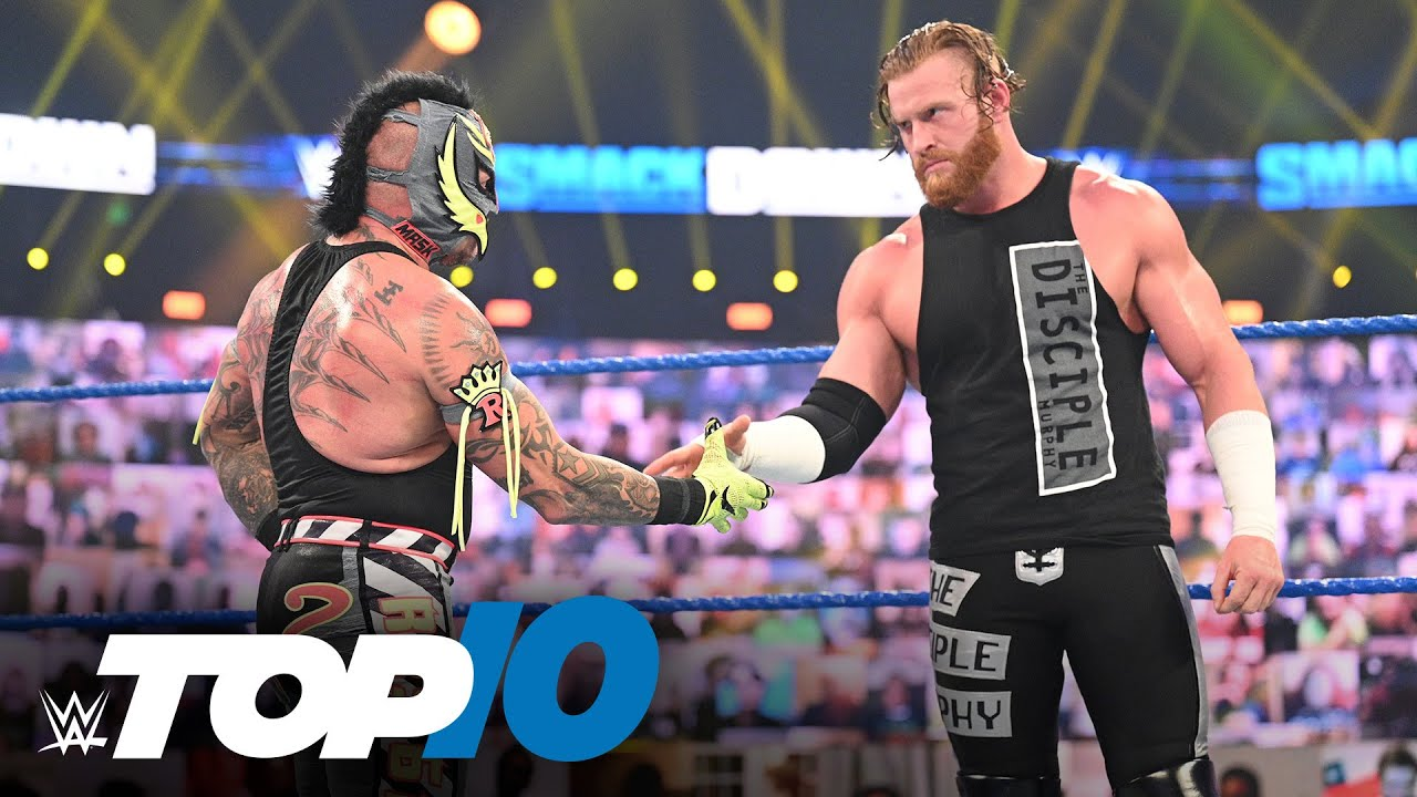 Top 10 Friday Night SmackDown moments: WWE Top 10, Nov. 13, 2020