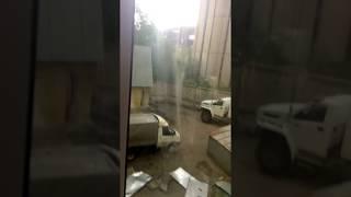 Ураган Буря Шторм в Москве 29 мая 2017 Сорвало крышу на Шаболовке