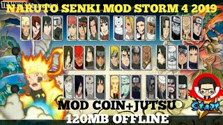Gambar cover Naruto Senki Mod Storm 4 2019 Apk (Unlimited Coin+Jutsu)