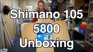 Shimano 105 5800 Groupset Unboxing and Insight