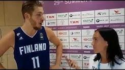 Anton Odabasi - miesten koripallomaajoukkue, Suomi-Kanada