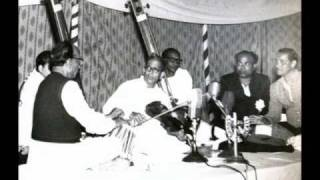 USTAD AHMEDJAN  THIRAKWA  TABLA  SOLO HYDERABAD 1962 TEEN TAAL