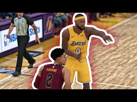 NBA 2K18 Trae Young My Career - West Coast Road Trip Ep. 17