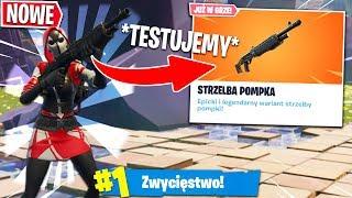 *NOWY* SHOTGUN POMPA z ADIM! EKSTREMALNY TEST! | Fortnite - Battle Royale