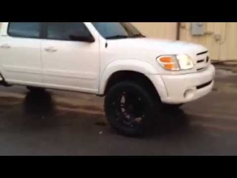 20 Inch Tuff Wheels 33 Inch Tires On Tundra Youtube