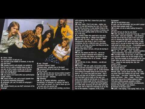 Paul & Linda McCartney Chateau Vallon Interview (09/07/1972)