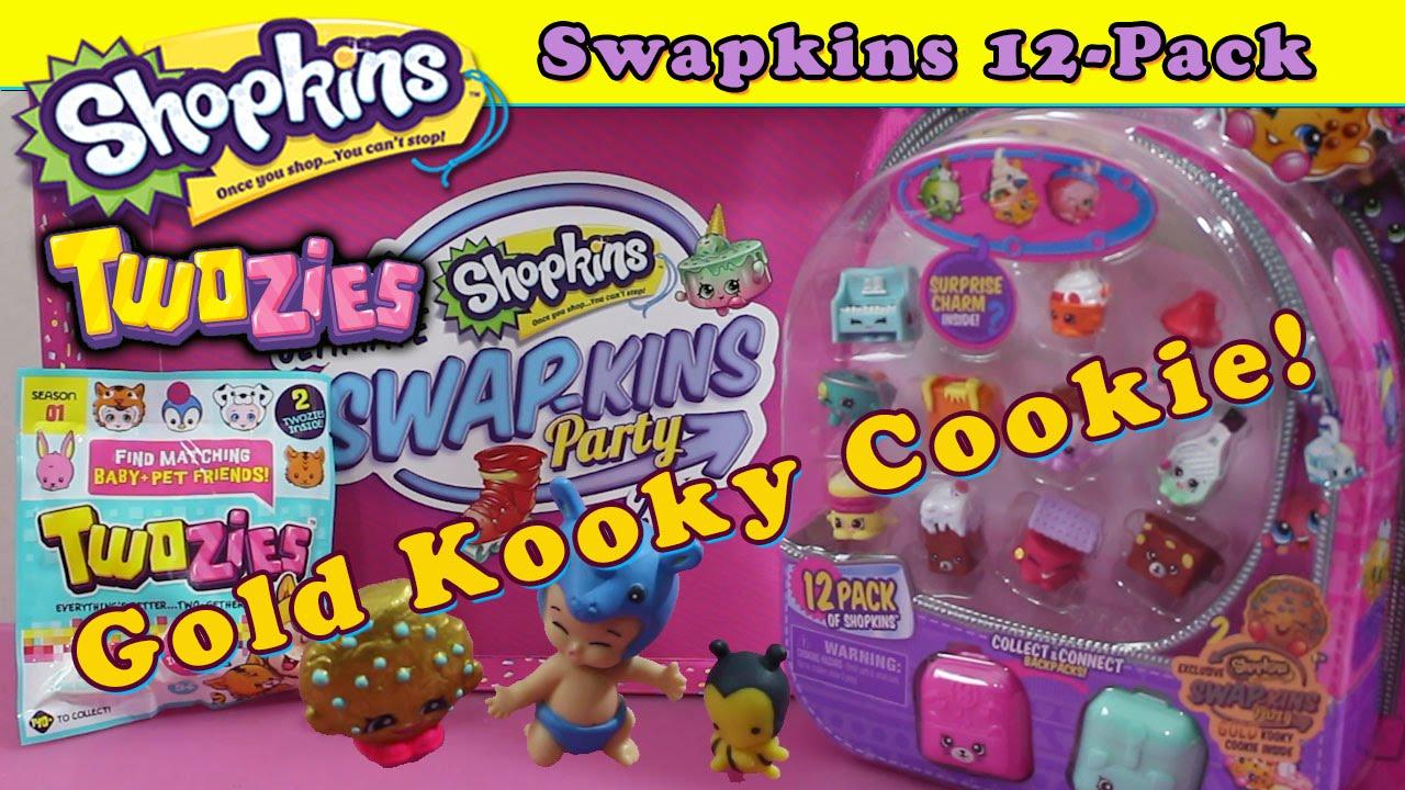 Gold Kooky Cookie Toys R Us Swapkins Shopkins Twozies