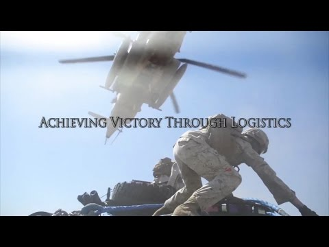 1st MLG | The History of the 1st Marine Logistics Group trailer