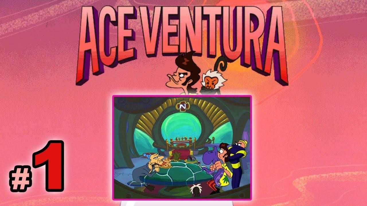 "Let's Play: Ace Ventura odc. 1 – ""Nautilus i ośmiornica"""