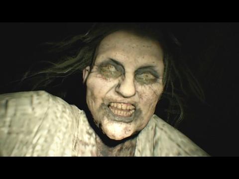 Resident Evil 7 Spider Marguerite Baker Boss Fight Obtain Serum