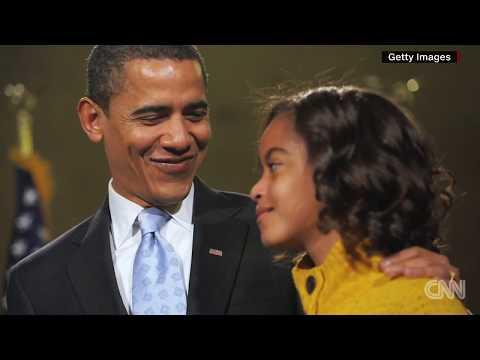 Barack Obama cried seeing Malia off to college