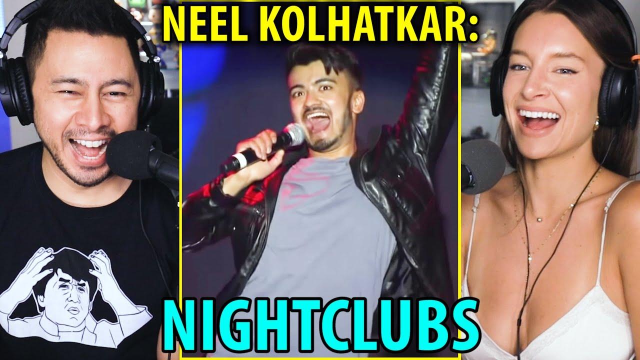 NEEL KOLHATKAR - Night Clubs | Stand Up Comedy Reaction w/ Jaby Koay & Amanda McCants!