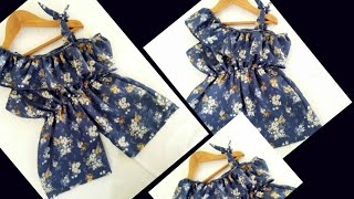 Baby Jumpsuit Cutting and Stitching Tutorial I Summer Special
