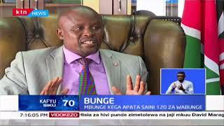 Mbunge Kanini Kega asema amepata saini 120 za wabunge wa Jubilee kumtimua Duale