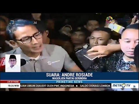 Gerindra Bantah Berikan Kursi Wagub DKI Ke PKS