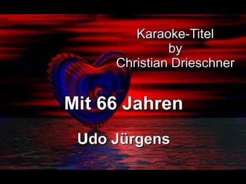 Mit 66 Jahren - Udo Jürgens - Karaoke
