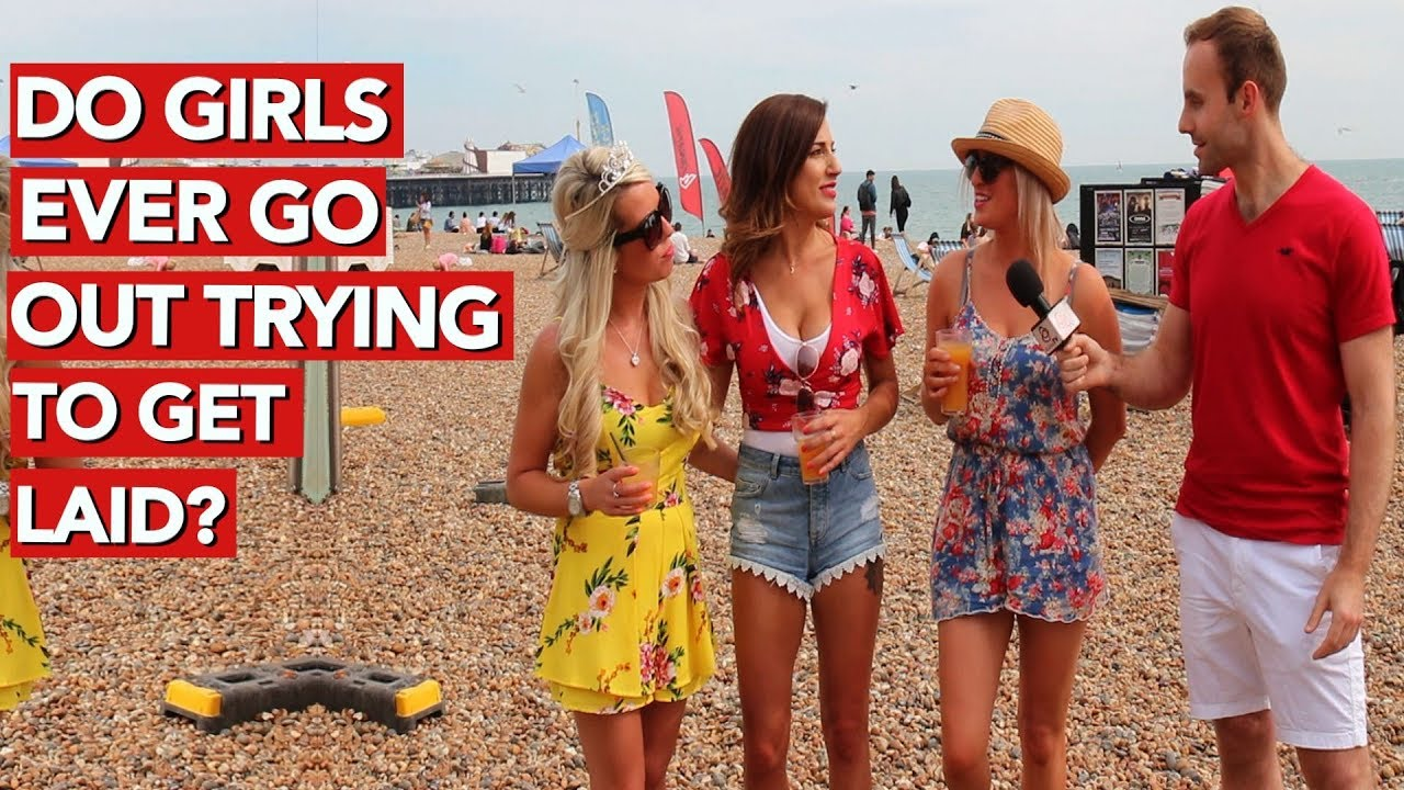 Do girls ever go out trying to get laid? - YouTube