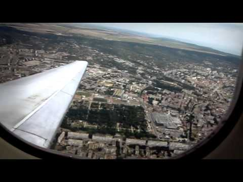 Flight Varna-Riga | Takeoff and Landing
