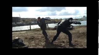 "Фехтование в т/с ""Бретёр"" (Игра). Трость vs катана."